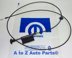 New 2002 2005 Dodge Ram 1500 3500 Hood Latch Release Cable Oem