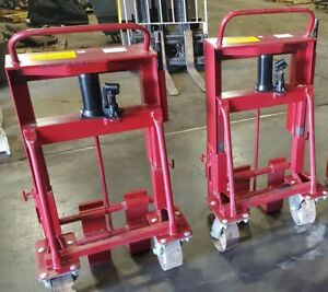 Wesco Rais n rol 8000 Lb Load Machinery Mover Set Of 2 Moving Jack