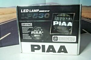 Driving Light Kit Piaa 5372 High Intensity Led Lamp Aluminum Housings 6000k Y3