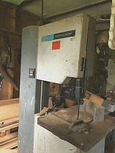 20 Rockwell Band Saw 220 Voltage Single Phase With Assortment Of Blades