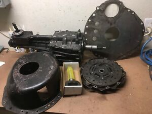Ford Mustang T5 5 Speed Transmission Borg Warner Tremec T 5 Bellhousing Clutch