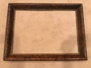 Antique 19th Century Wooden Large 30x21 Picture Frame