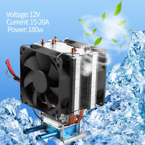 12v Thermoelectric Peltier Refrigeration Water Cooling Semiconductor Cooler Zg