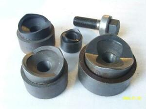 Greenlee Knock Out Chassis Punches With 3 4 Draw Bolt And Bearing