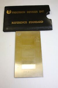 Precision Devices Inc Calibration Reference Standard Pdr 8 Sn8853 Pn114