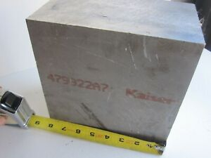 Kaiser Select 6061 Aircraft Aluminum Sheet Block Square 8 x8 x4 5 8