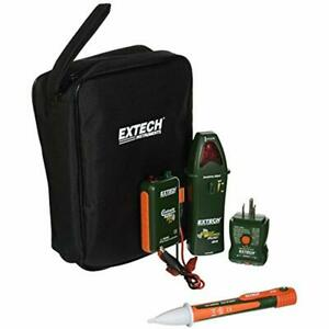 Extech Circuit Testers Cb10 kit Handy Electrical Troubleshooting 5 Functions