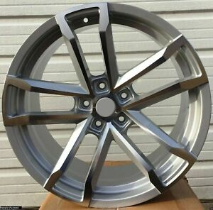 4 New 20 Silver Rims Wheels For 2010 2011 2012 Ls Lt Rs Ss Zl1 Camaro 5662