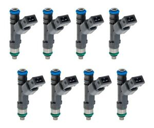 1996 2004 Mustang Gt 4 6 Genuine Ford Racing 47 Lb Pound Fuel Injectors Set Of 8