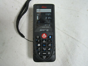 Leica Disto D8 Laser Distance Meter Bluetooth Screen Targeting 360 Angle Measure