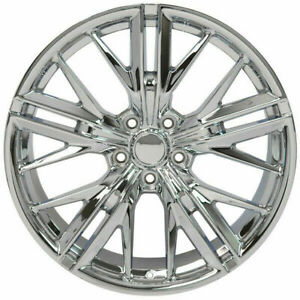4 New 20 Staggered Rims Wheels For 2010 2011 2012 Camaro Ls Lt Rs Only 5672