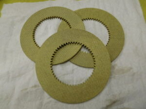 3pc Clutch Disc Inner Replacement Set For Hobart M802 V1401 140 Qt Mixer 873117