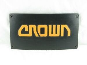 Crown Lift Truck Crown Forklift Sc Rear Electric Panel Cover Used Original