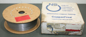 30 Lbs Ns Carbon Steel Welding Wire Er70s 3 0 045 Spool Copper Free Mig