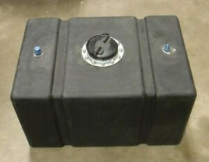 Racing Fuel Cell With Foam 24in X 16in X 14in Cap Opening Diameter 4in