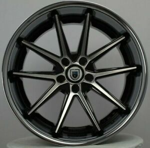 4 New 22 Staggered Rims Wheels For 2010 2011 2012 Ls Lt Rs Ss Zl1 Camaro 5680