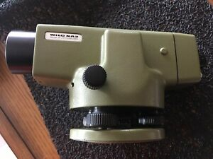 Heerbregg Wild Na2 Surveying Equipment Great Condition