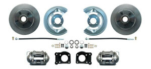 1964 1973 Ford Mustang Front Disc Brake Complete Drum To Disc Conversion Kit