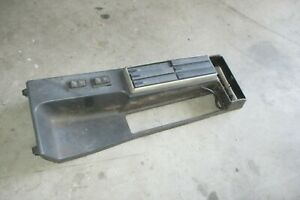Bmw E30 325 318 Center Console Convertible Oem Factory With Cassette Holder