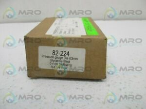 Industrial Mro 82 224 Pressure Gauge New In Box