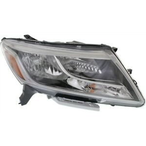 Headlight For 2013 2014 2015 2016 Nissan Pathfinder Right With Bulb