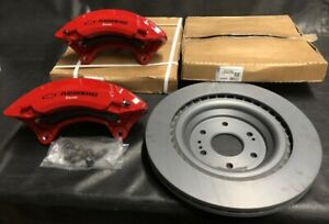 2014 2019 Oem Silverado Gm Performance Brembo Upgrade Brake Rotor Caliper Kit