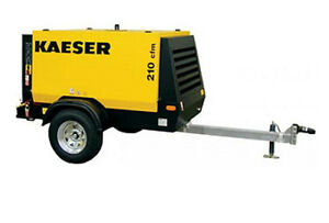New Kaeser M58 Towable Diesel Air Compressor Tier Iv Final Kaeser M58
