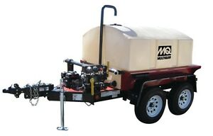 Brand New Mq Multiquip Wt5c 525 Gallon Water Trailer Double Axle With Qp2h Pump