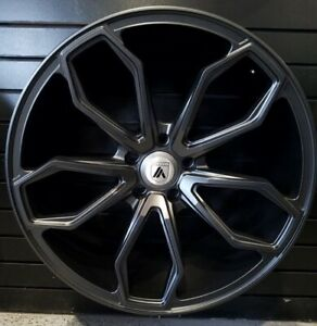 4 New 22 Staggered Rims Wheels For 2010 2011 2012 Ls Lt Rs Ss Zl1 Camaro 5683