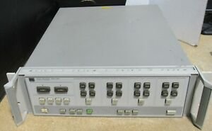 Hp 85102b If detector Module For 8510c Vector Network Analyzer Power Tested
