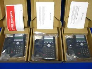lot Of 3 Polycom Soundpoint Ip330 Business Phones new