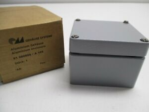Gehause 01080806 a105 Aluminium Enclosure New In Box