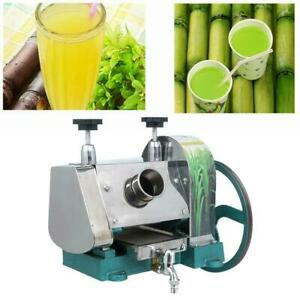Manual Sugar Cane Press Juicer Juice Machine Commercial Extractor Mill Machine