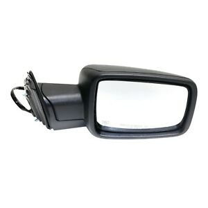 Power Mirror For 2013 Ram 1500 2500 Right Power Folding Heated Textured Black