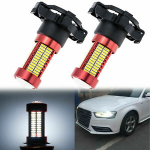 White 106 Smd Py24w Projector Lens Led Bulbs For Audi A4 Front Turn Signal Light