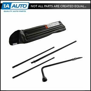 Spare Tire Lug Wrench Tool Kit Set For Cadillac Chevy Gmc
