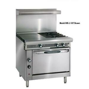 Imperial Ihr 2ht 2 c Diamond 2 Heat Hot Tops W 2 Burners Convection Oven