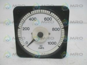 Crompton 077 s73210120 Panel Meter 0 1000aca new No Box