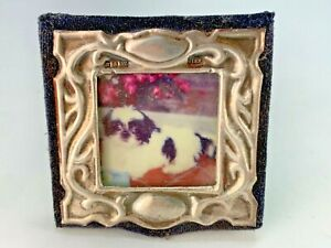 Vintage Lovely Sterling Silver Kfl Made In England Travel Picture Frame