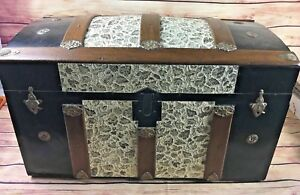 1880 1900 Antique Dome Top Trunk Camelback Steamer Professionally Restored