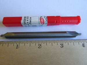 Keo 4 X 4 Long Solid Carbide Center Drill 29404 60 Degree Never Used