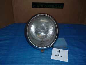 Vintage Vw Hella Headlight Assembly Complete 111941153d With German Lens 1