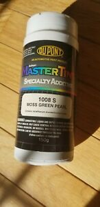 Dupont Axalta Mastertint Specialty Additive 1008s Moss Green Pearl 150g New Full