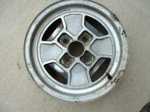 Cromodora Cd16 Wheel Off Of A Fiat 124 For 124 X1 9 850