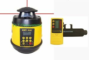 Northwest Nrl800x Self leveling Grade Laser With Detector