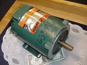 Reliance Ac Motor S2000 1 3 Hp 1725 Rpm 208 230 460 3 Phase P56h3119r New