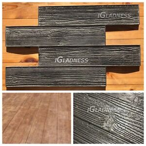 Concrete Stamp Rubber Mat For Printing Texture Wood deck
