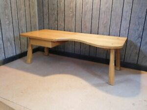 Clearance Mid Century Vintage Ranch Oak Rare Find Coffee Table Cabin Furniture