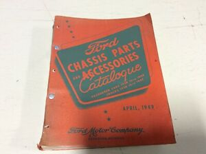 Original 1928 48 Ford Chassis Parts Catalog Scta Trog Hot Rod Flathead 1932
