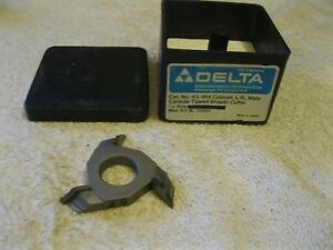 Delta rockwell Shaper Cutter Carbide Tipped 3 4 Bore 43 914 Nos